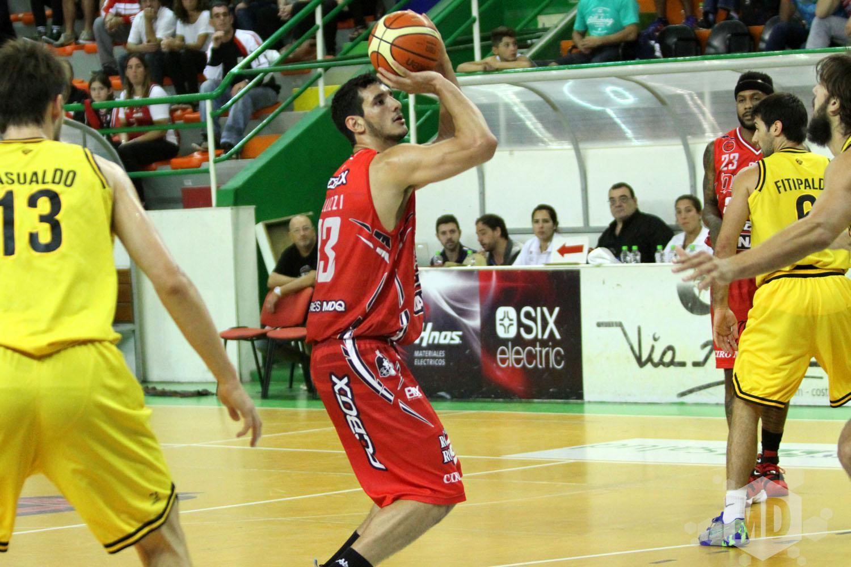 Tayavek Gallizzi jugará en Quimsa. (Foto: Archivo Carlos De Vita)
