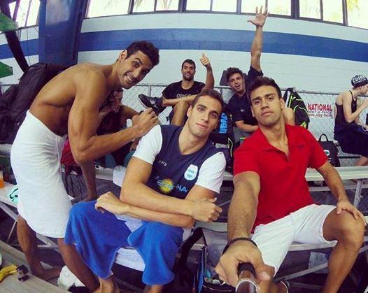 Guido Buscaglia junto con parte del equipo argentino. (Foto: Facebook)