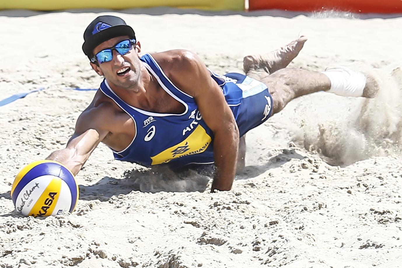Ian Mehamed en el partido disputado en Río.