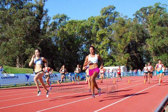 Lozano fue una de las atletas destacadas ne el dia de hoy.