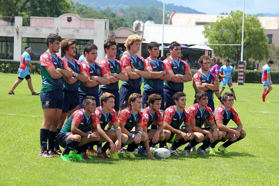 El equipo de M18 que presentará la Unión de Rugby de Mar del Plata. (Foto: Prensa URMDP)