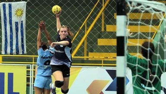 Martina Mazza fue la goleadora argentina hoy.