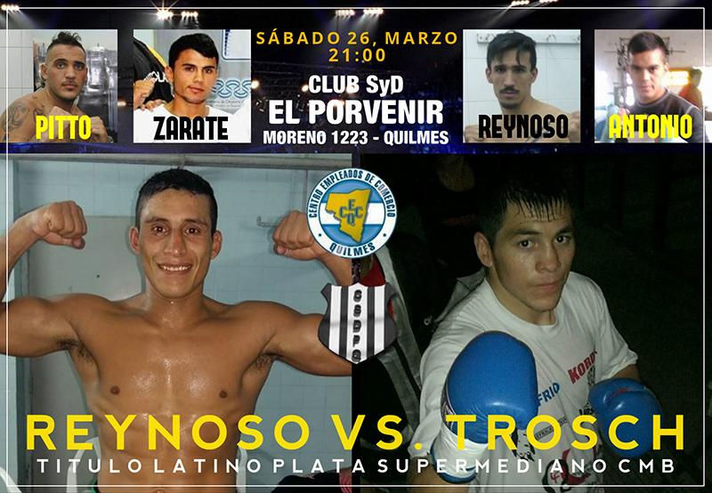 César Reynoso irá por su segunda corona.