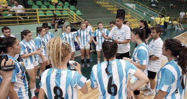La Selección Junior en el Panamericano.