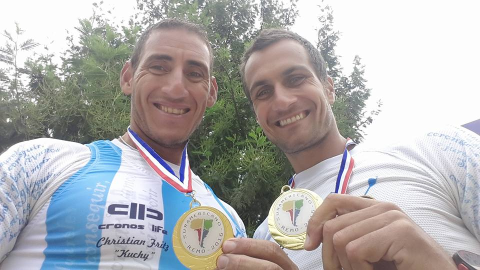 Ariel Suárez y Cristian Rosso van por la Final B. (Foto: Facebook)