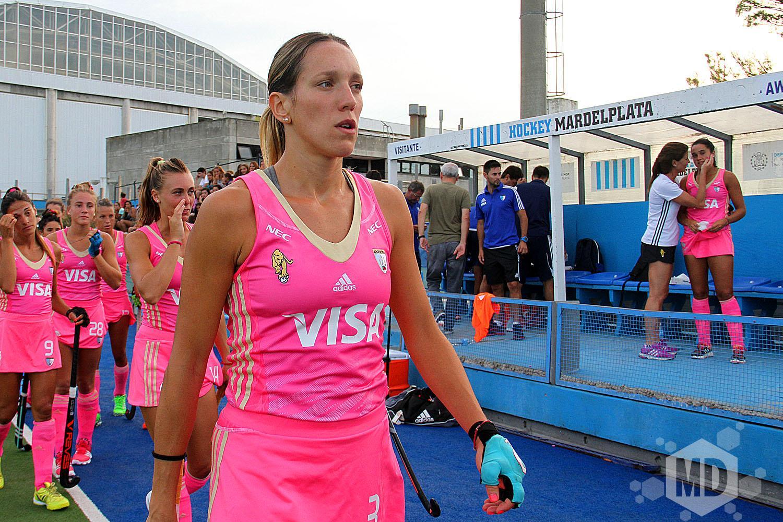 Victoria Zuloaga estará en el Champions Trophy. (Foto: Carlos De Vita)