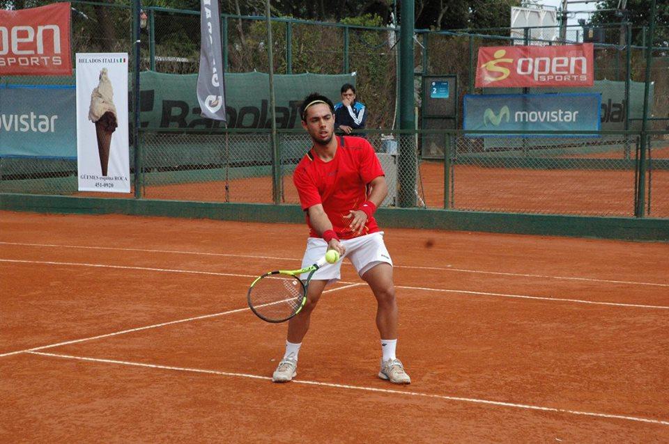 Genaro Olivieri, el finalista argentino en el Náutico.