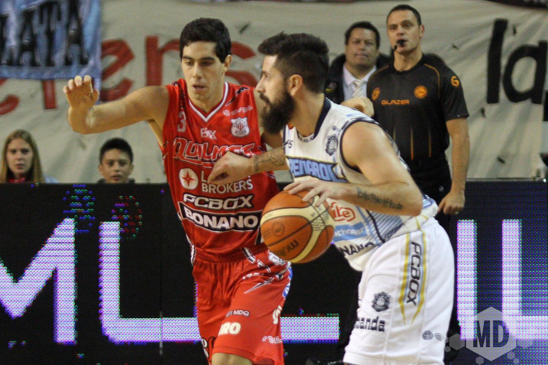 Fabián Sahdi es uno de los que tiene una lesión pero le permite jugar igual.  (Foto: Carlos De Vita)