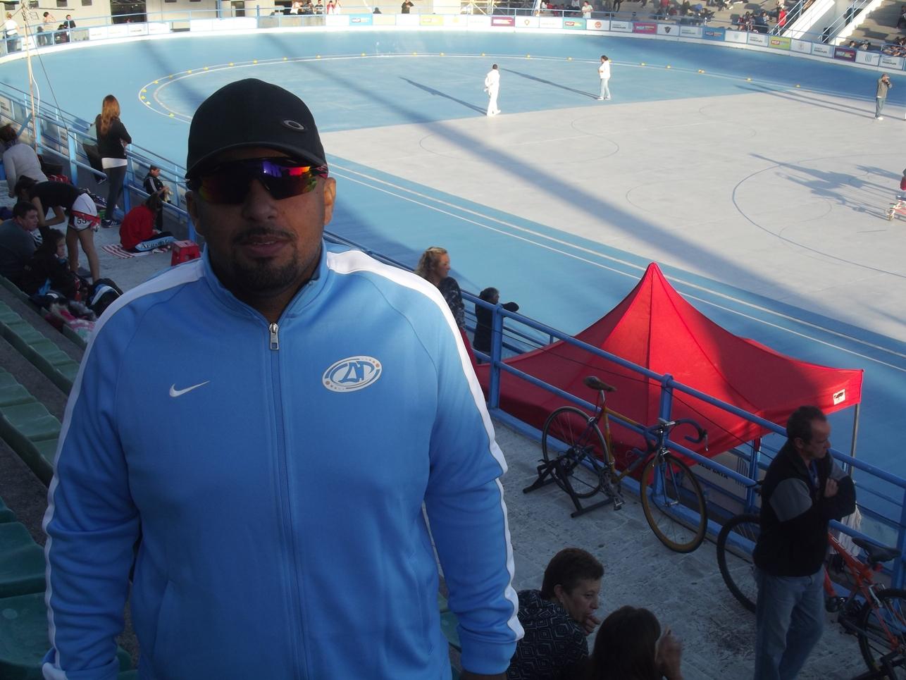Álvaro Ramos está trabajando en la semana con la Pre-Selección Argentina en la ciudad.