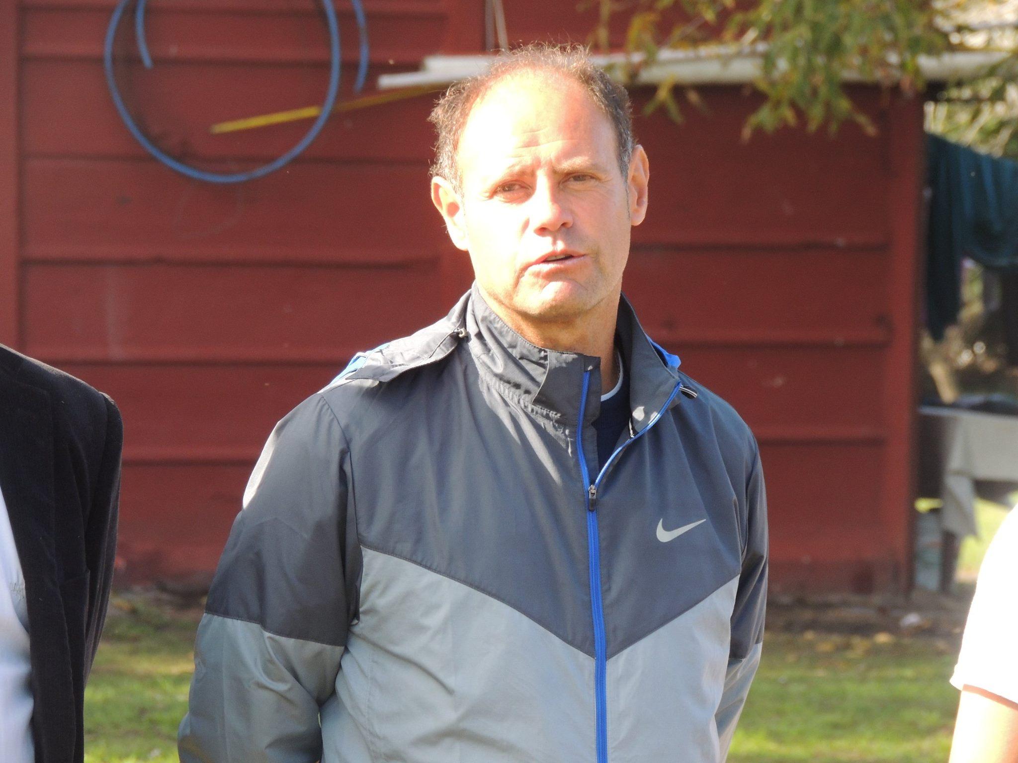 El entrenador de Alvarado, Duilio Botella, analizó el triunfo de su equipo. (Foto: Florencia Arroyos)