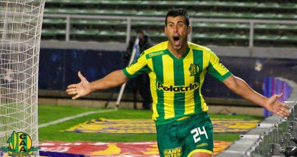 Sebastián Penco anotó el golazo de la victoria. (Foto: Club Aldosivi)