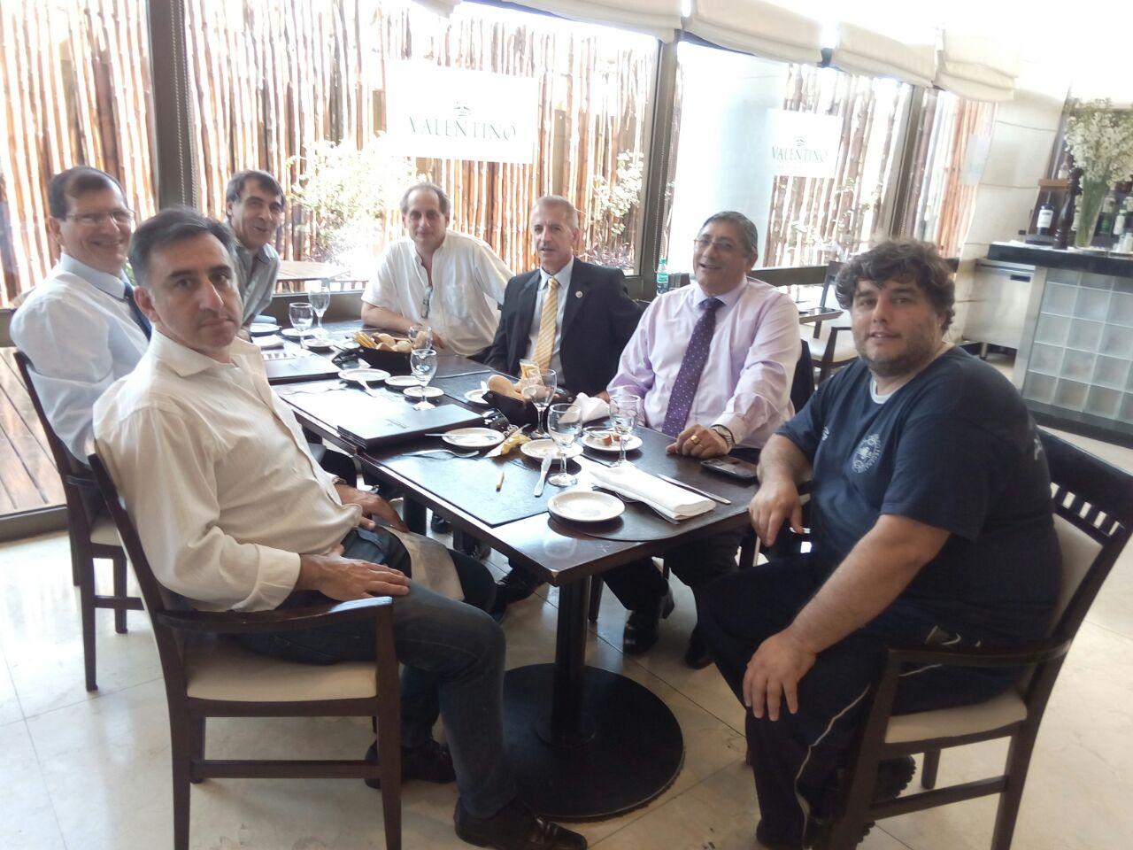 La reunión de maestros de Taekwondo en Chaco.