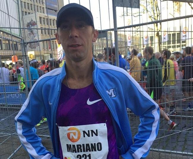 Mariano Mastromarino, más olímpico que nunca en Rotterdam.