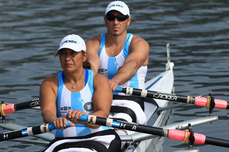 María Rosa Meyer y Michelotti en la competencia italiana. (Foto: Lorena Weimer - Facebook)