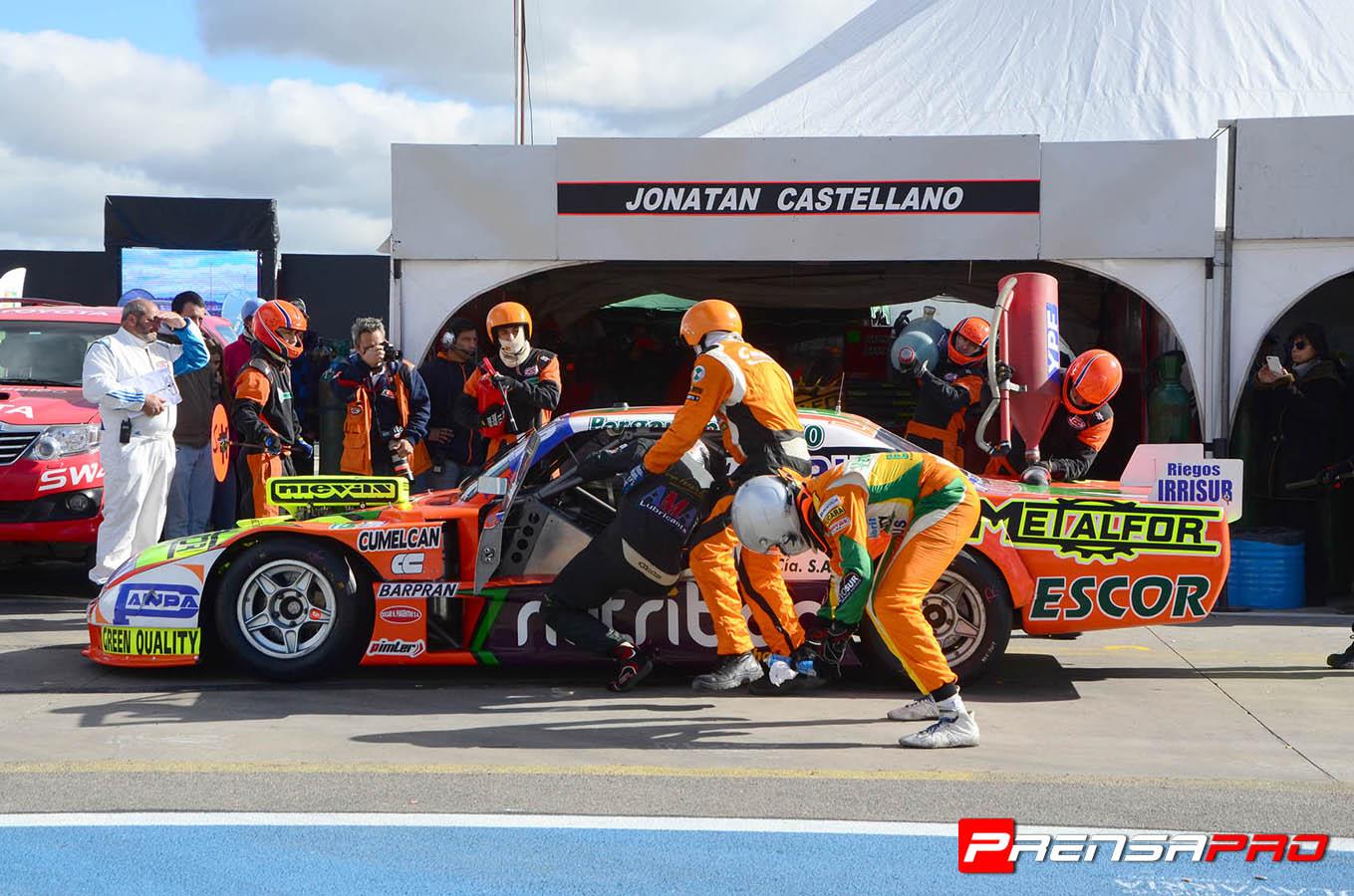Diego Verriello en la competencia de hoy. (Foto: Prensa Verriello)