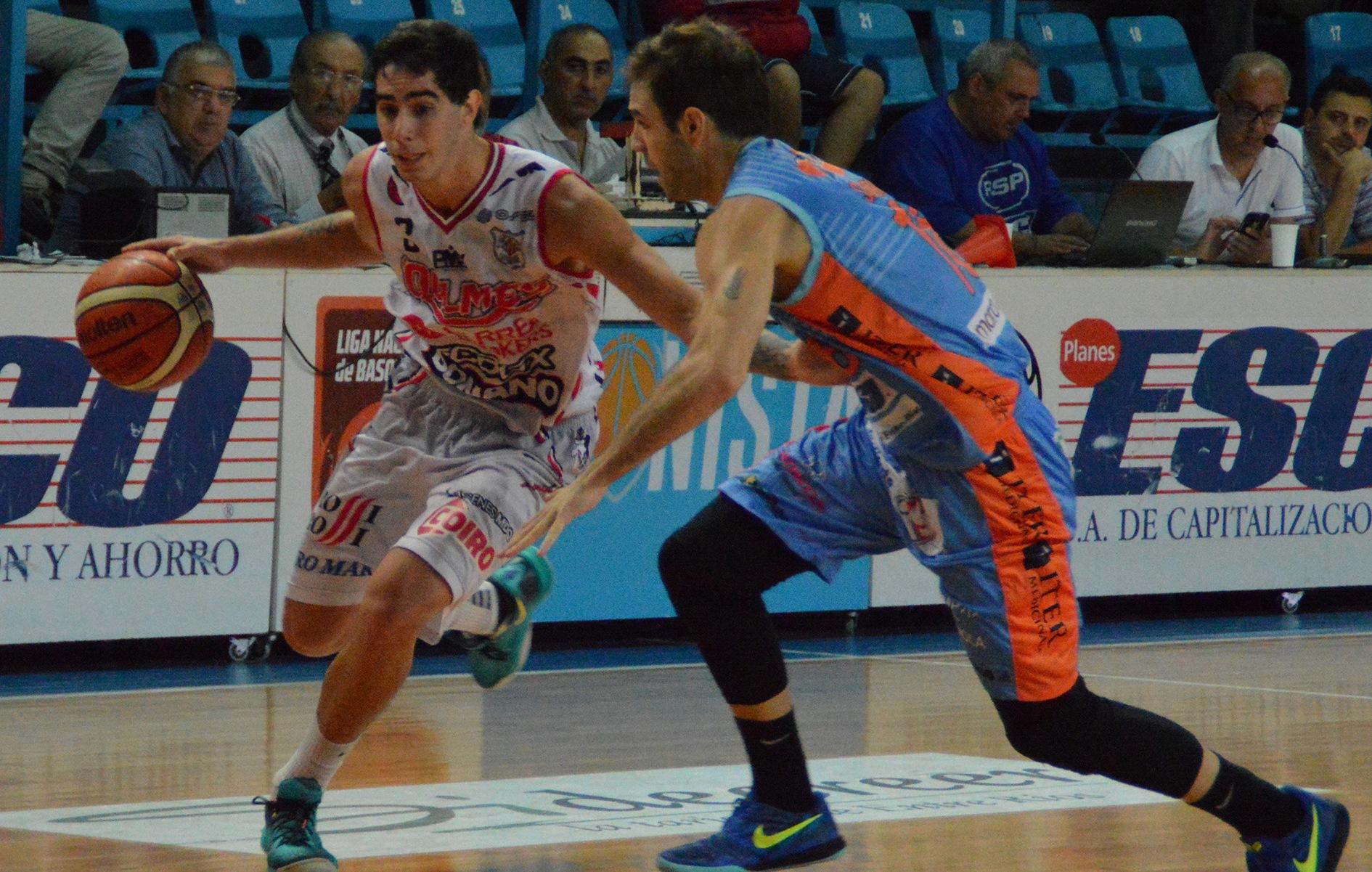 Luca Vildoza fue determinante en momentos claves del partido. (Foto: LNB.com.ar)