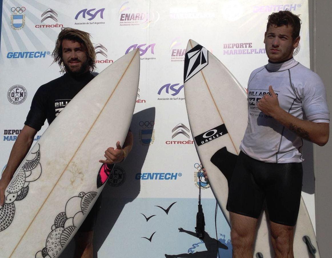 Felipez Suárez (derecha) y Tomás López (izquierda) los integrantes de la final. (Foto: Prensa ASA)