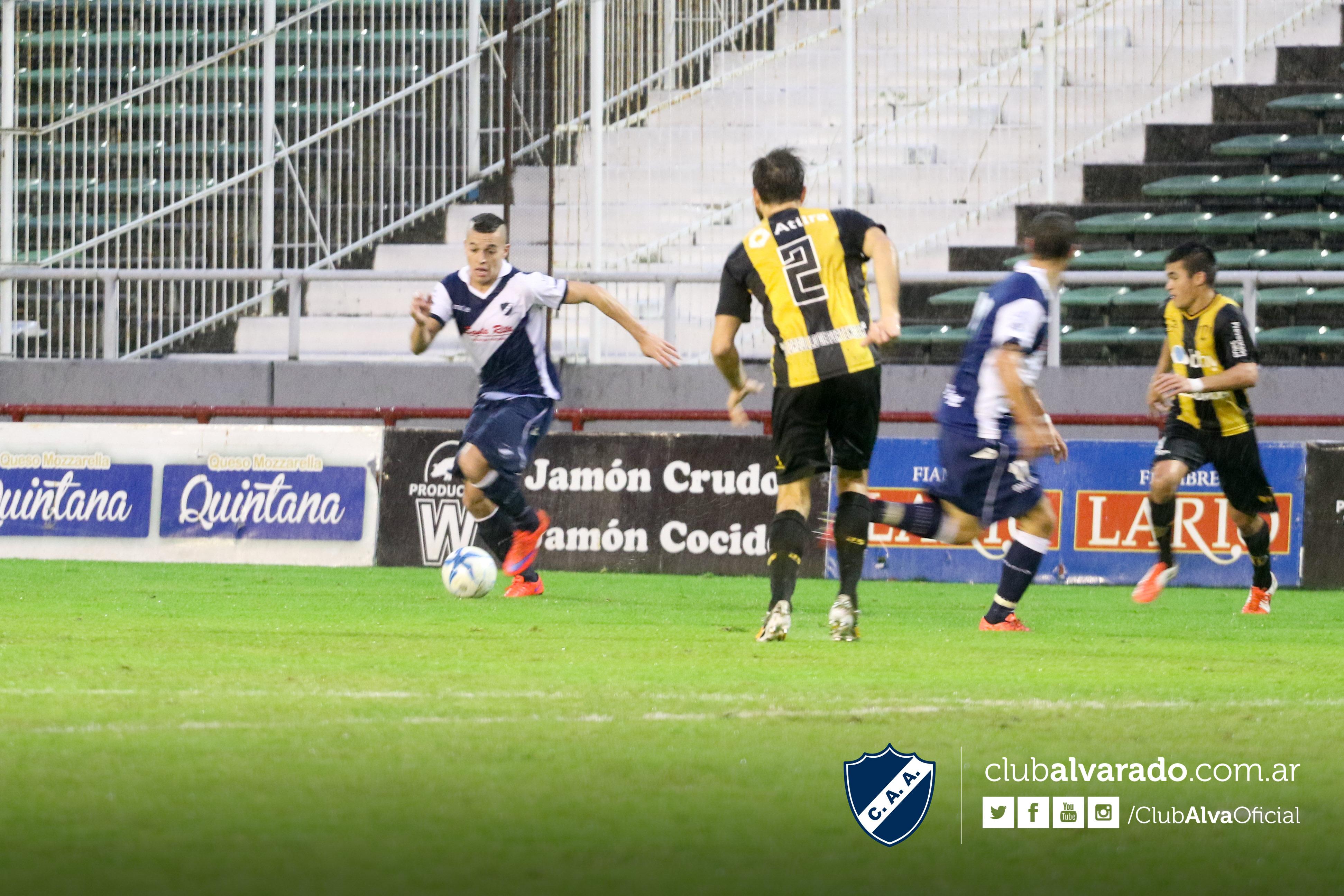 Alvarado cayó como local y tendrá que ganar por 4 goles para pasar de ronda. (Foto: Florencia Arroyos - Club Alvarado)