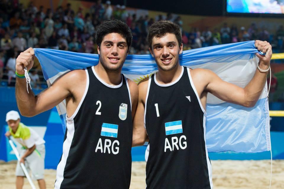 La dupla Aulisi-Aveiro estará en el Mundial Sub-21.