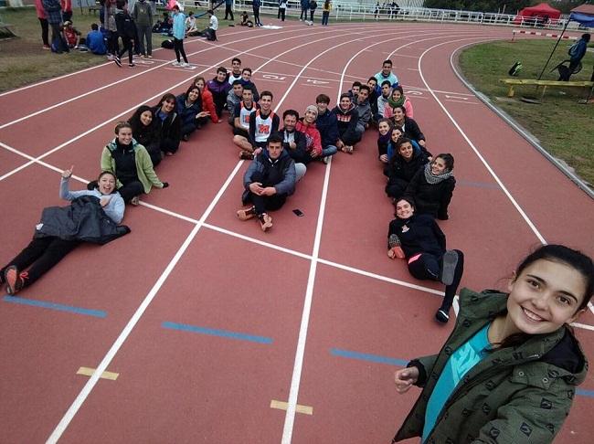 El equipo de Malgor que tuvo una gran participación en Mendoza.