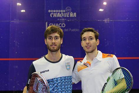 Leandro Romiglio y Federico Cioffi, duelo marplatense en Chaco.