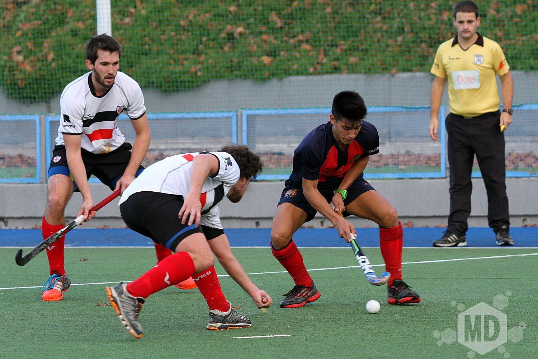 Miguel Becco anotó el único gol en el partido. (Foto: Carlos De Vita)