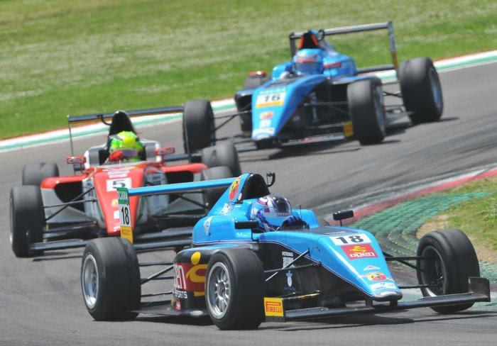 Marcos Siebert en una de las finales disputadas en Imola.