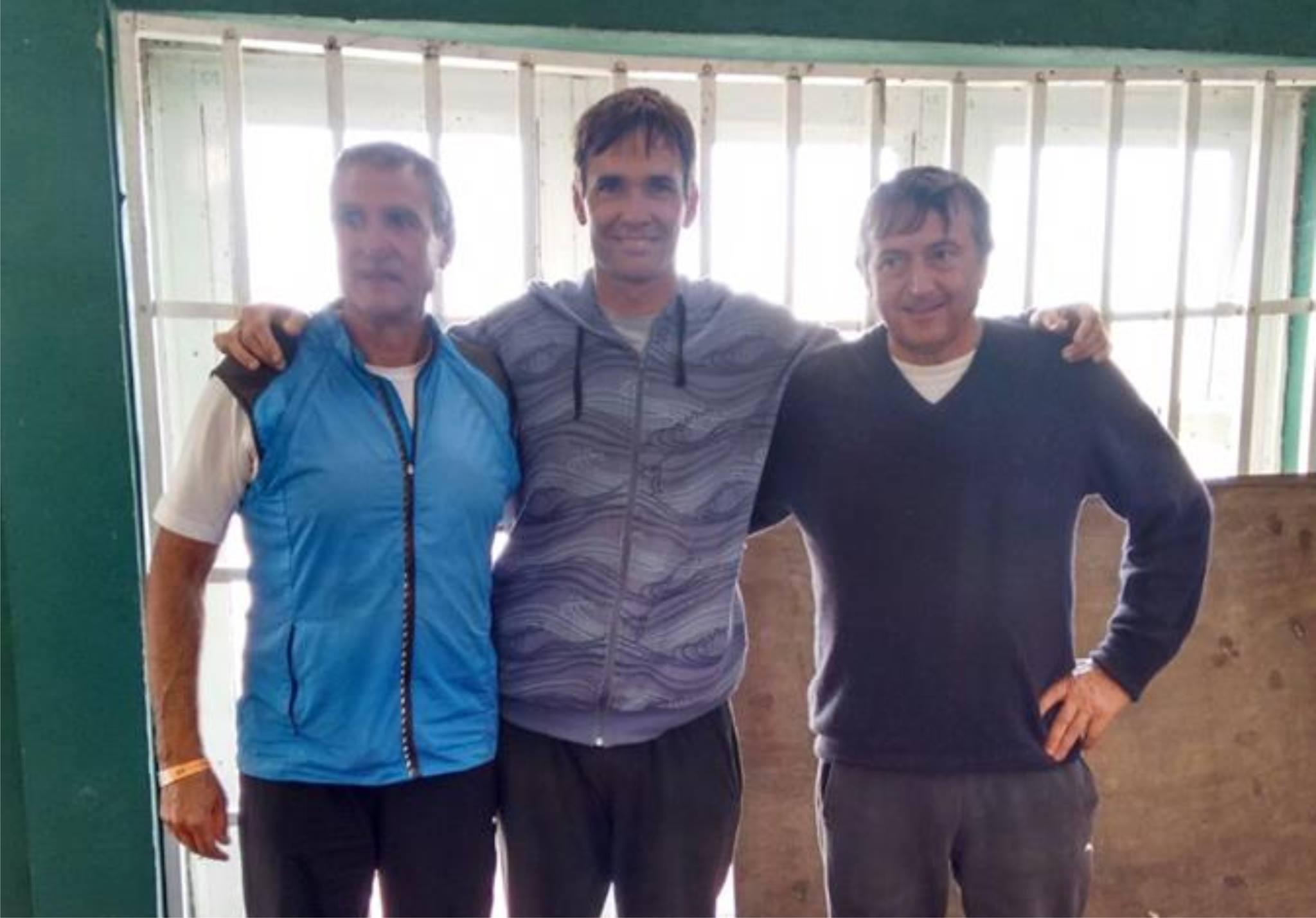 Los representantes marplatenses en el Sudamericano Master.