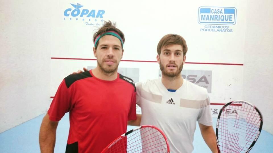 Robertino Pezzota y Leandro Romiglio, rivales y viejos conocidos en Córdoba.