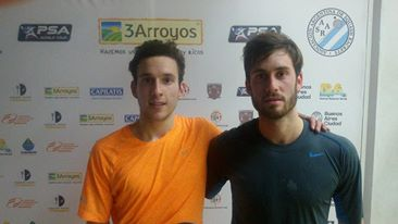 Federico Cioffi y Leandro Romiglio.