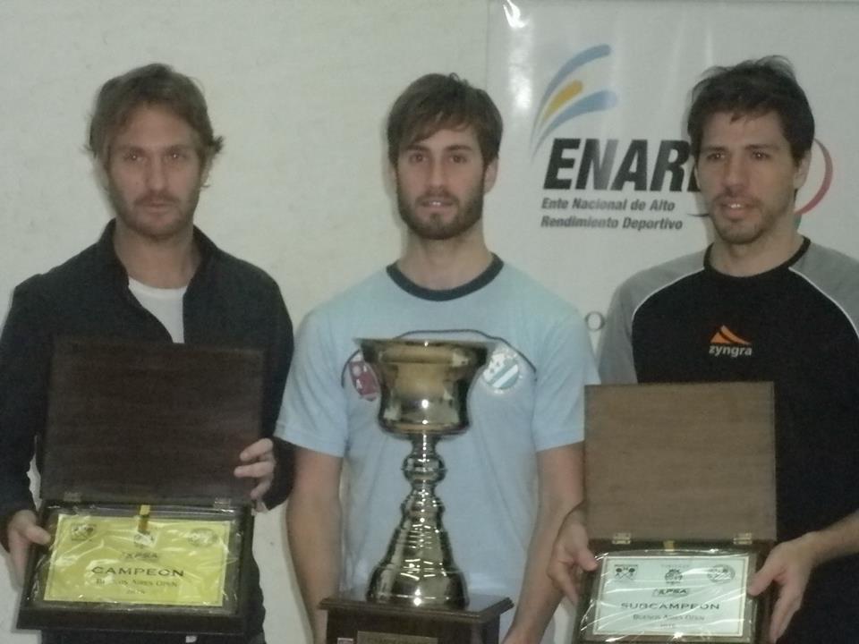 Leandro Romiglio se quedó con el primer puesto en Tortuguitas.