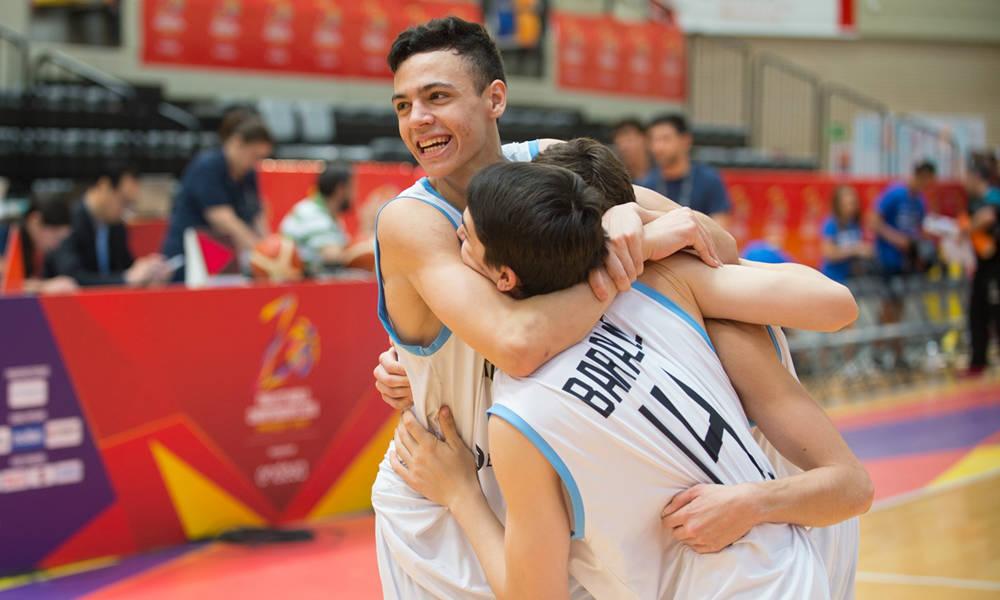 Argentina pudo ganarle a Egipto y obtener su primer triunfo del torneo. (Foto: FIBA)