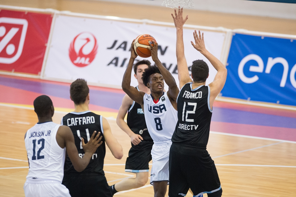 Estados Unidos fue mucho para Argentina. (Foto: FIBA)