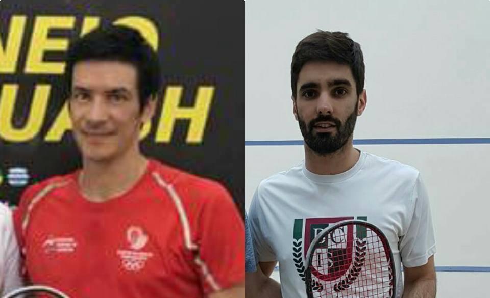 Esteban Casarino y Juan Pablo Roude, los rivales en la qualy.