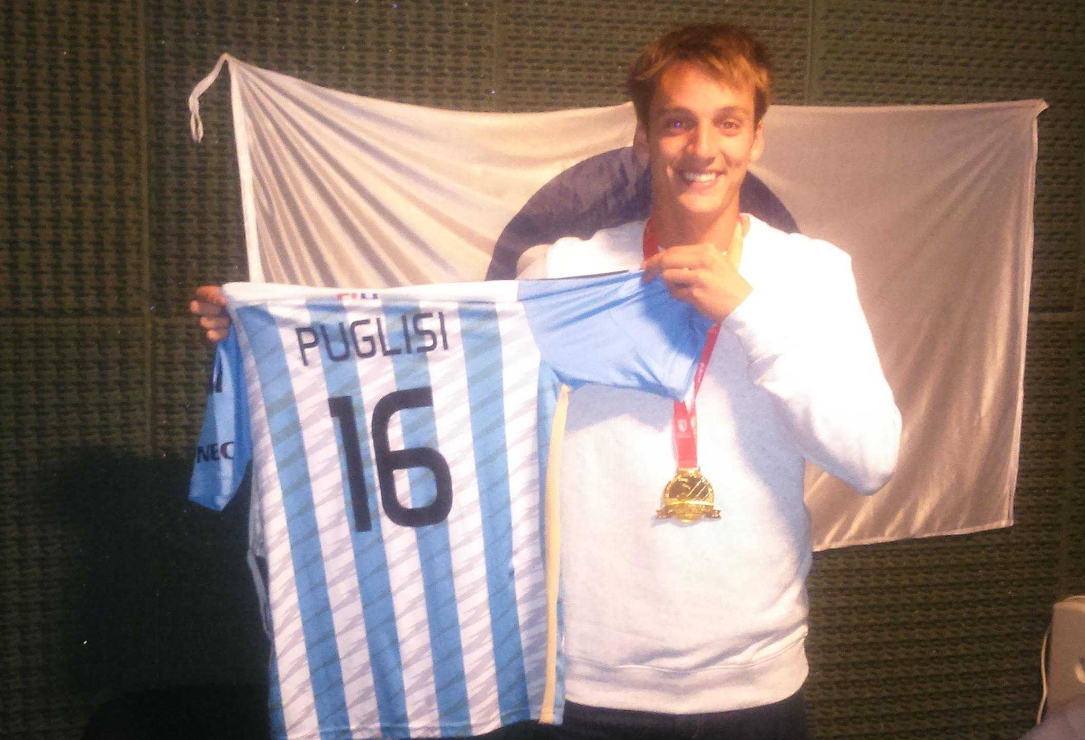 Joaquín Puglisi pasó por los estudios de la 99.9.
