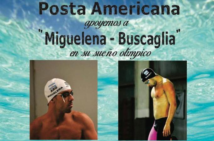 Guido Buscaglia y Facundo Miguelena hicieron la convocatoria a esta posta americana.