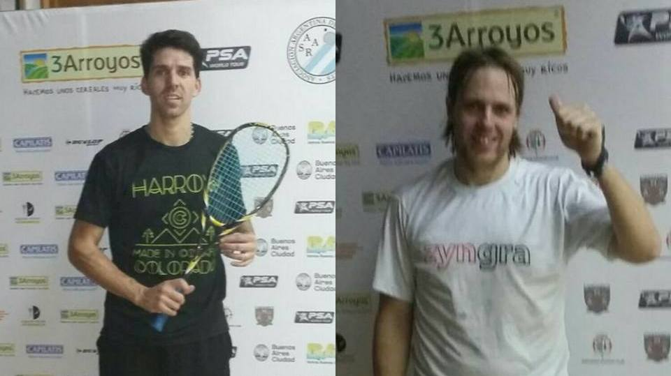 Matías Valenzuela y Rodrigo Pezzota se medirán hoy.