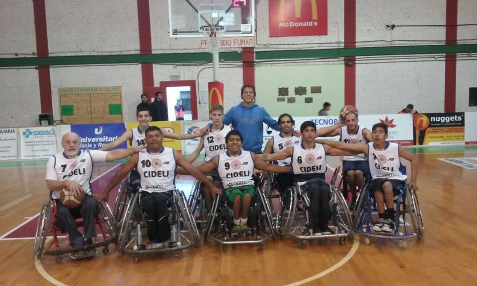 El equipo que participó en Mendoza y terminó invicto.