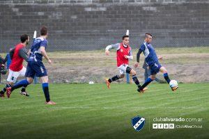 El amistoso entre Alvarado y América que se disputó hoy. (Foto: Florencia Arroyos - Club Alvarado)