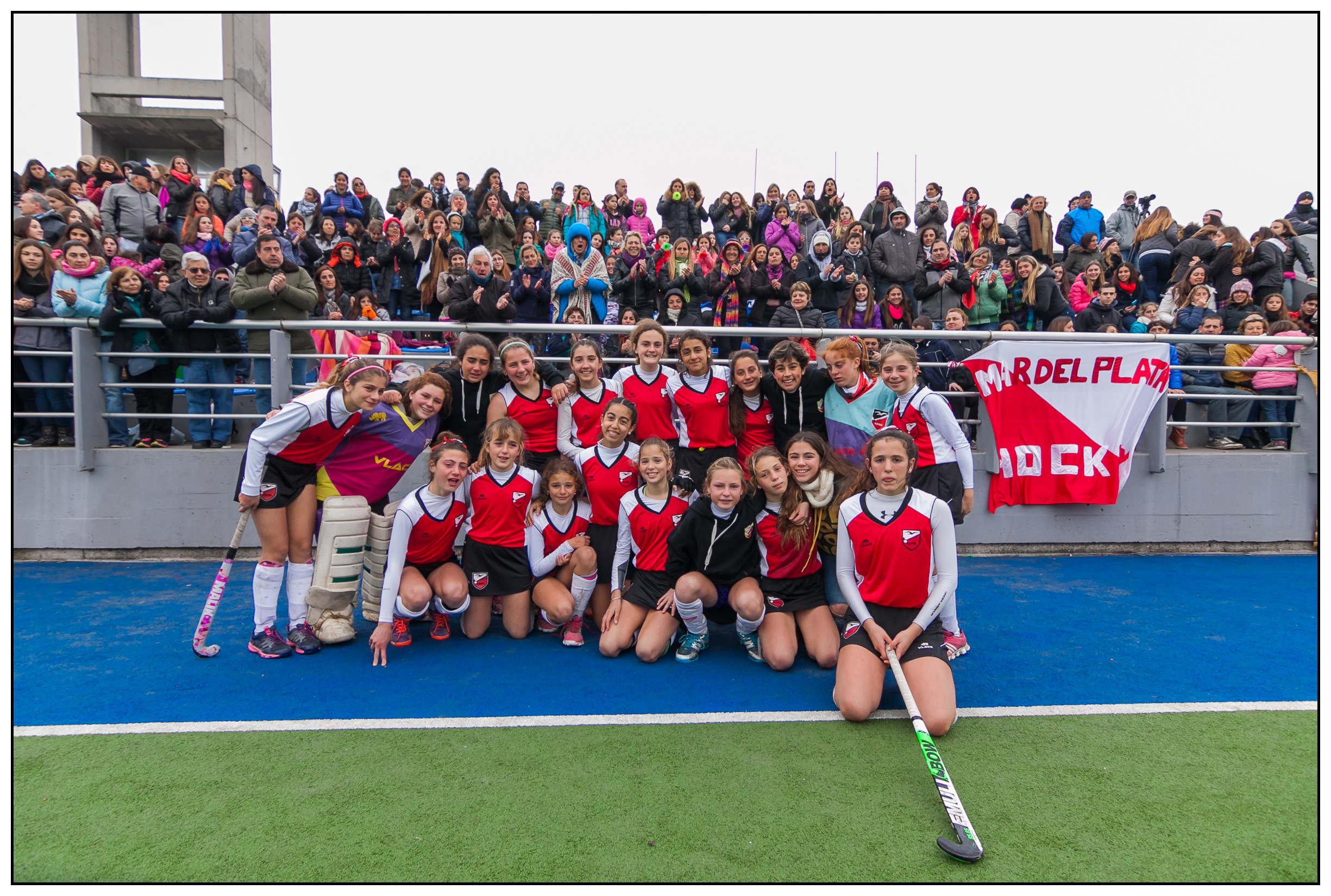 Mar del Plata fue sub-campeona del Regional. (Foto: Diego Landi)