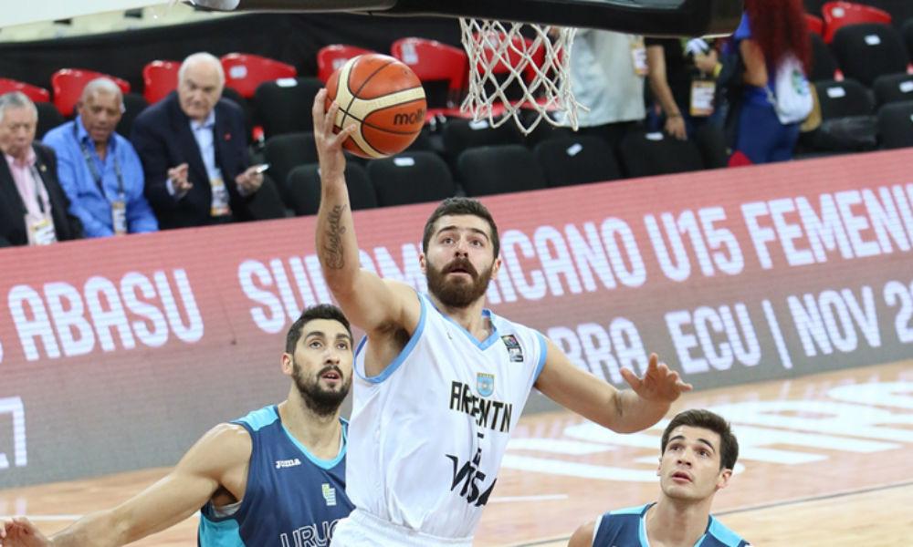 Argentina perdió con Uruguay y finalizó 4º el Sudamericano. (Foto: FIBA)
