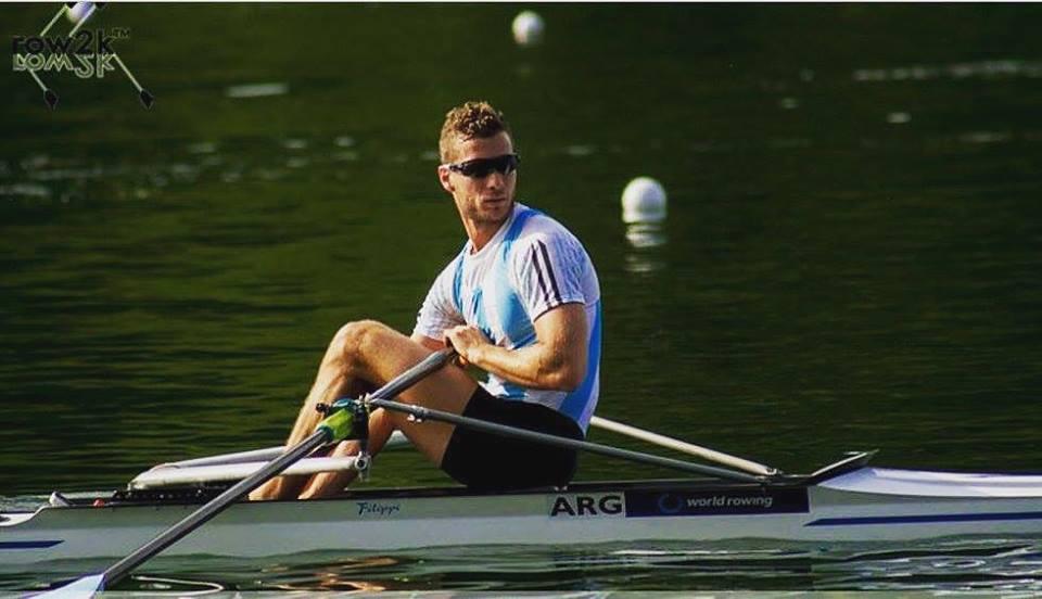 El marplatense Brian Rosso ya palpita su participación en Río.