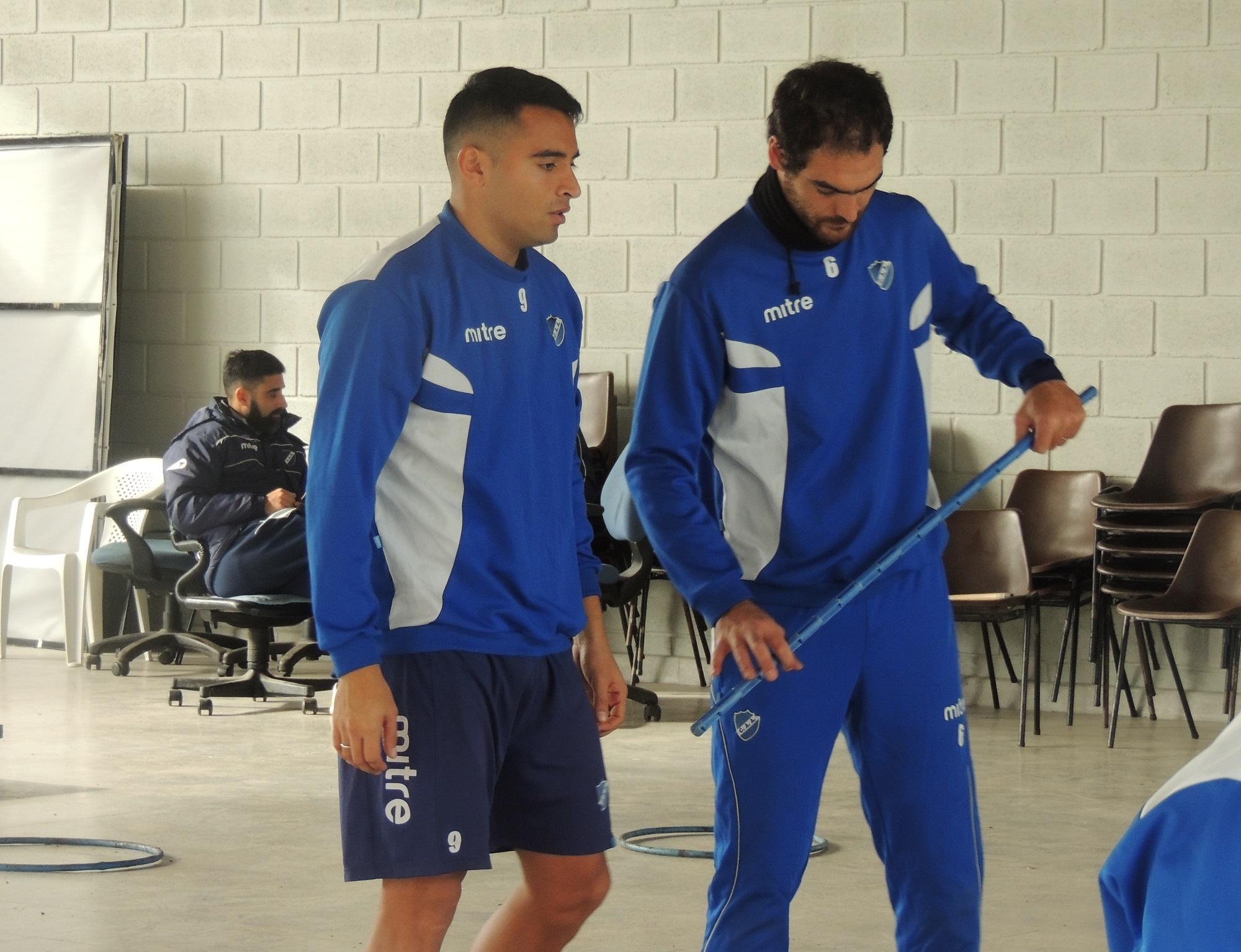 Francisco Molina ya entrena en Alvarado. (Foto: Prensa Alvarado)