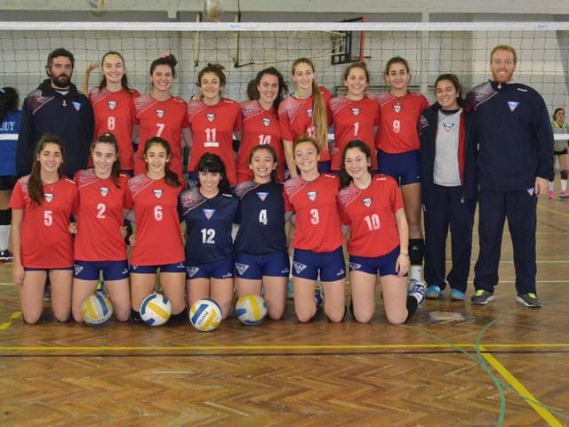 El seleccionado femenino de Buenos Aires terminó cuarto en el Nacional Sub-15.