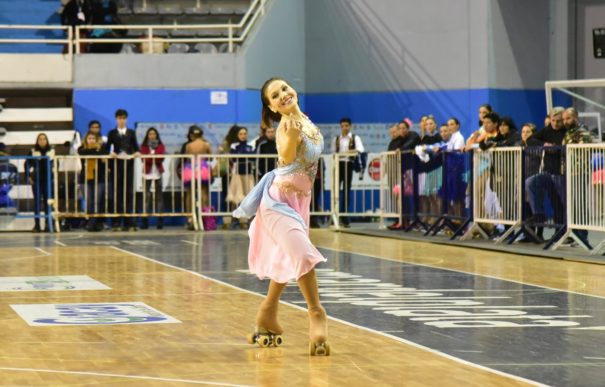 Nadia Ortiz Villar en su participación inicial del torneo.