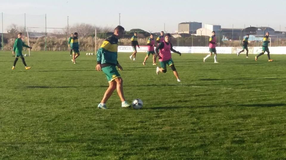 Aldosivi se midió esta mañana con Berazategui. (Foto: Archivo)