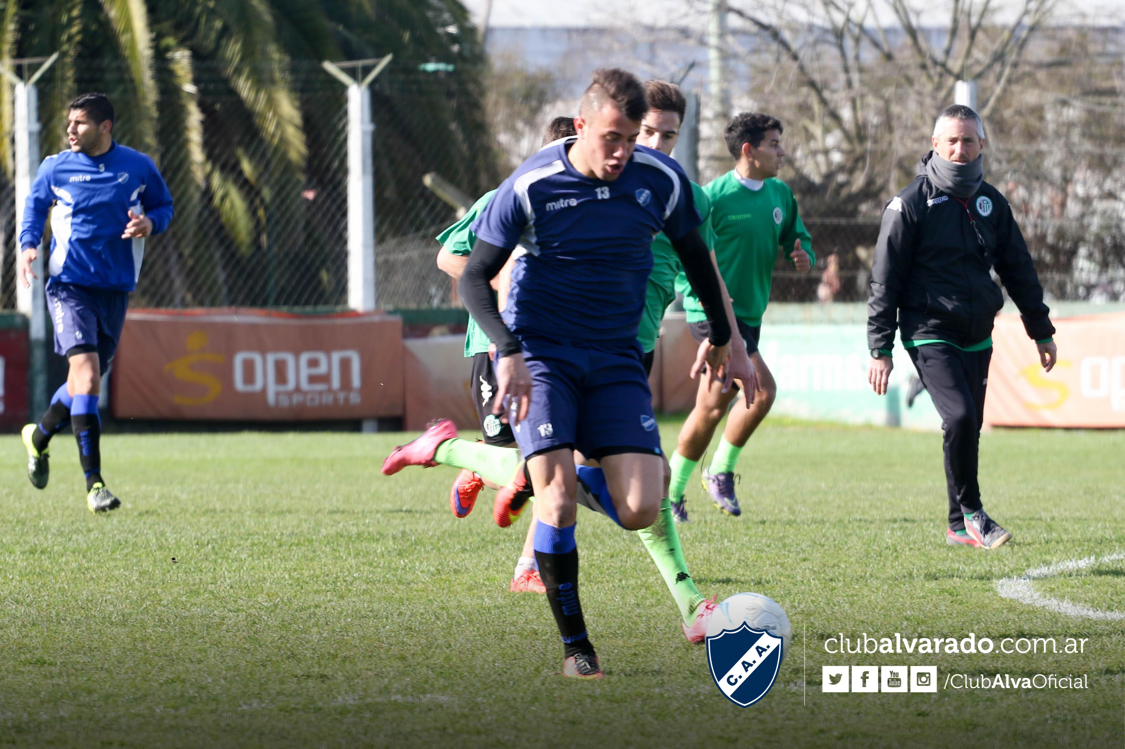 Alvarado logró otro triunfo de preparación. (Foto: Prensa Alvarado)