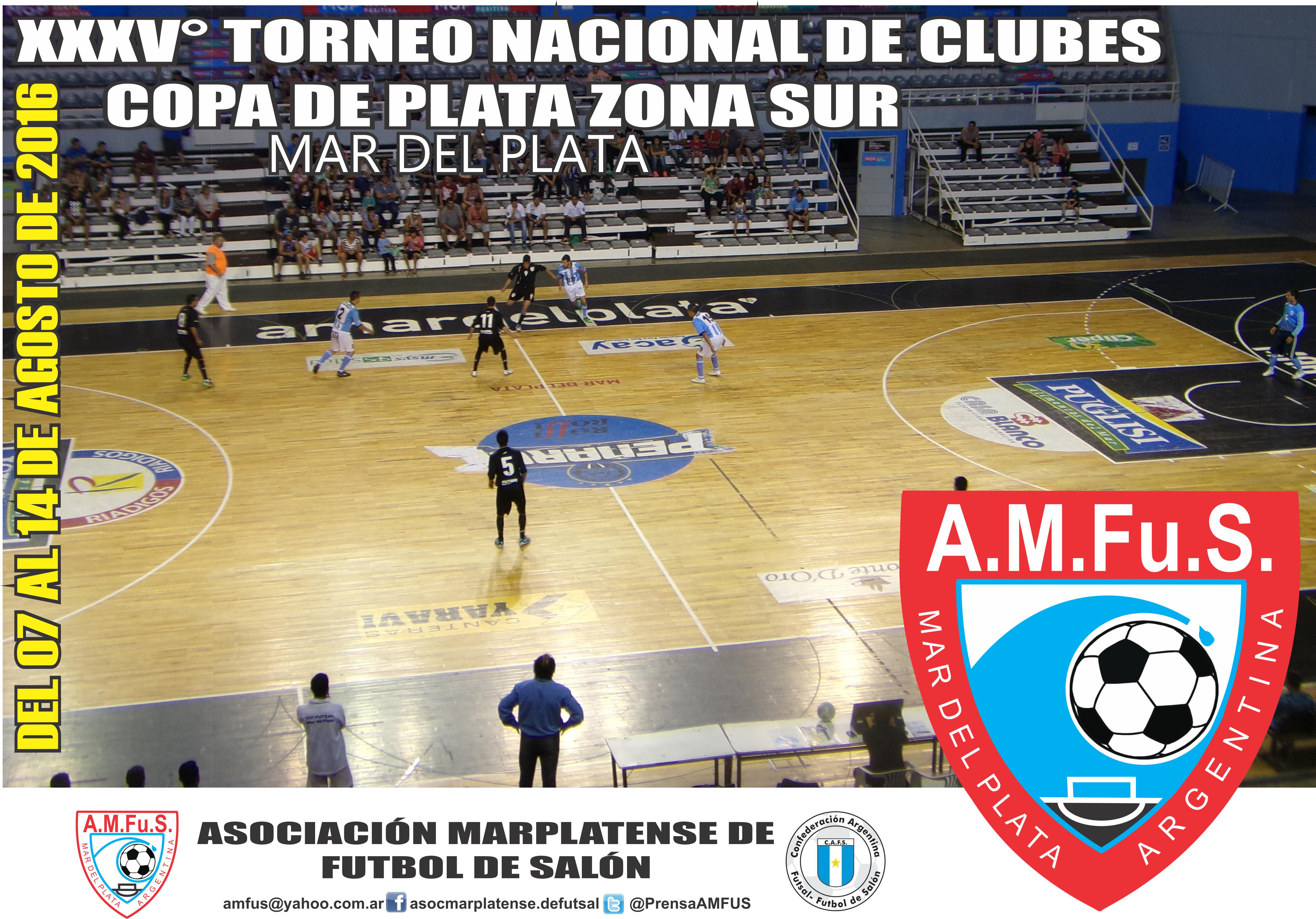 Se viene el Torneo Nacional de Futsal en Mar del Plata.