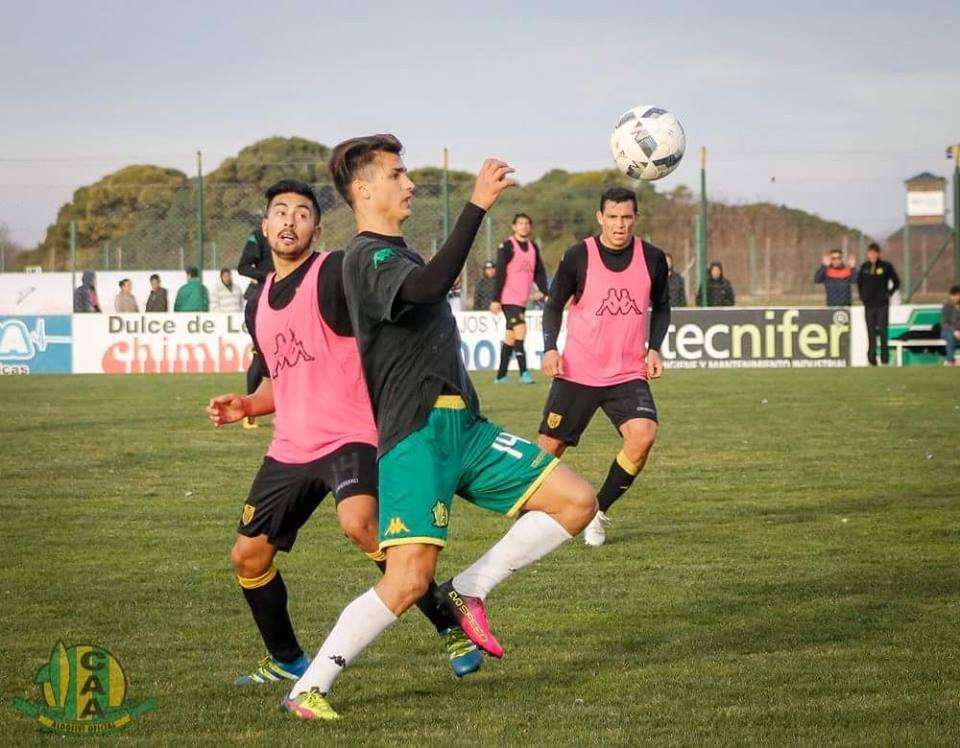 Juan Ignacio Dinenno es el goleador de Aldosivi en la pre-temporada. (Foto: Sergio Biale- Club Aldosivi)