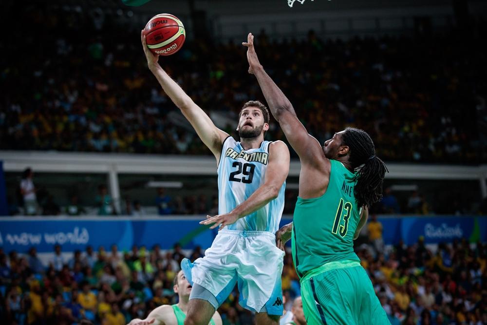 Patricio Garino, el representante marplatense de El Alma. (Foto: FIBA)